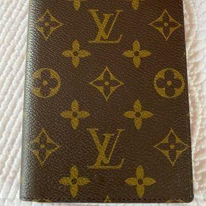 Louis Vuitton passport holder authentic